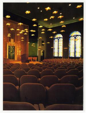 Primary view of object titled '[Interior, Beth-El Congregation Sanctuary, after 1981 remodeling]'.