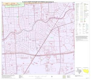 Primary view of object titled 'P.L. 94-171 County Block Map (2010 Census): Harris County, Block 235'.