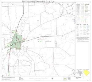 Primary view of object titled 'P.L. 94-171 County Block Map (2010 Census): Lavaca County, Block 7'.