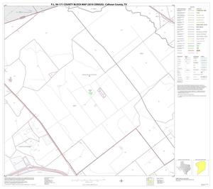 Primary view of object titled 'P.L. 94-171 County Block Map (2010 Census): Calhoun County, Block 7'.