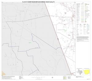 Primary view of object titled 'P.L. 94-171 County Block Map (2010 Census): Hardin County, Block 16'.