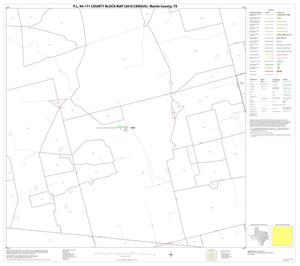 Primary view of object titled 'P.L. 94-171 County Block Map (2010 Census): Martin County, Block 6'.