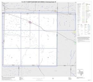 Primary view of object titled 'P.L. 94-171 County Block Map (2010 Census): Armstrong County, Index'.