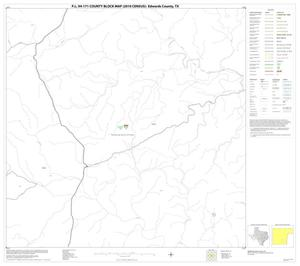 Primary view of object titled 'P.L. 94-171 County Block Map (2010 Census): Edwards County, Block 30'.