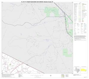 Primary view of object titled 'P.L. 94-171 County Block Map (2010 Census): Bandera County, Block 12'.