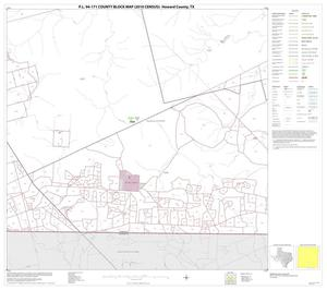 Primary view of object titled 'P.L. 94-171 County Block Map (2010 Census): Howard County, Block 15'.