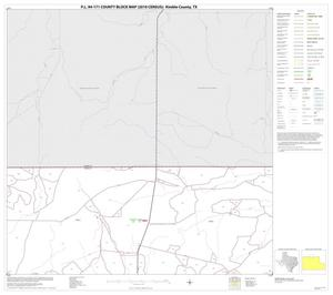 Primary view of object titled 'P.L. 94-171 County Block Map (2010 Census): Kimble County, Block 3'.