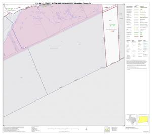 Primary view of object titled 'P.L. 94-171 County Block Map (2010 Census): Chambers County, Block 19'.