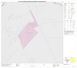 Primary view of object titled 'P.L. 94-171 County Block Map (2010 Census): Fort Bend County, Block 71'.