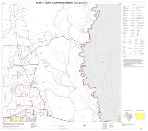 Primary view of object titled 'P.L. 94-171 County Block Map (2010 Census): Hardin County, Block 10'.