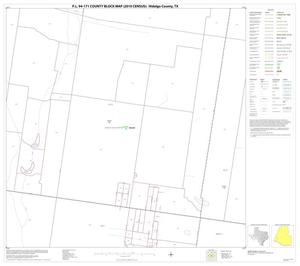 Primary view of object titled 'P.L. 94-171 County Block Map (2010 Census): Hidalgo County, Block 60'.