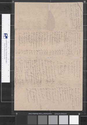 Primary view of object titled '[Minutes, third meeting of Beth-El Congregation, October 5, 1902]'.