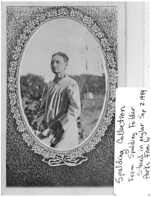 Primary view of object titled 'Photographic Postcard of a Woman'.