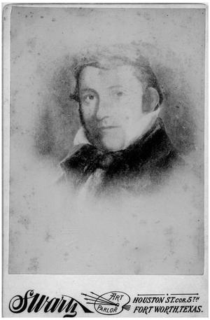Primary view of object titled '[Portrait of Davy Crockett]'.