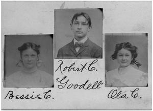 Primary view of object titled '[Goodell Family Children]'.
