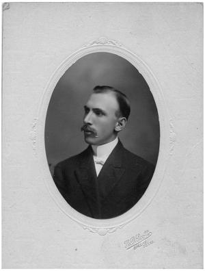 Primary view of object titled '[Portrait of Dr. Grove]'.