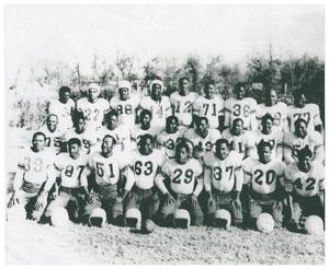 Primary view of object titled '[Fred Douglas High School Football Team]'.