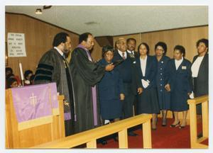 [Group at Mount Pilgrim Christian Methodist Episcopal Church]