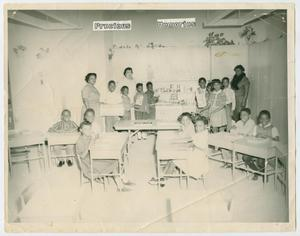 Primary view of object titled '[Fred Moore School Classroom]'.