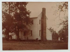 Primary view of object titled '[Home of Anthony Garnett Smith, Sr.]'.