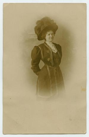 Primary view of object titled '[Photograph of Caroline Madison Beville]'.