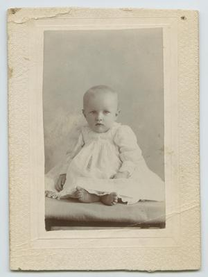 Primary view of object titled '[Baby Anson Holley]'.