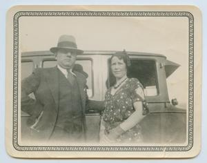 Primary view of object titled '[Anson Holley and Date]'.