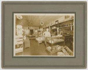 Primary view of object titled '[N. A. Holley & Sons Grocery Market]'.