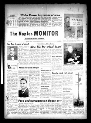 Primary view of object titled 'The Naples Monitor (Naples, Tex.), Vol. 74, No. 32, Ed. 1 Thursday, March 3, 1960'.