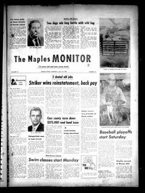Primary view of object titled 'The Naples Monitor (Naples, Tex.), Vol. 73, No. 52, Ed. 1 Thursday, July 23, 1959'.