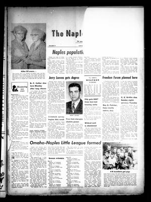 Primary view of object titled 'The Naples Monitor (Naples, Tex.), Vol. 74, No. [43], Ed. 1 Thursday, May 19, 1960'.