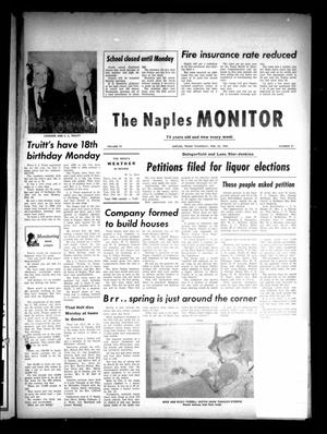 Primary view of object titled 'The Naples Monitor (Naples, Tex.), Vol. 74, No. 31, Ed. 1 Thursday, February 25, 1960'.