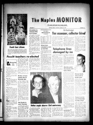 Primary view of object titled 'The Naples Monitor (Naples, Tex.), Vol. 74, No. 33, Ed. 1 Thursday, March 10, 1960'.