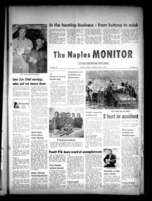 Primary view of object titled 'The Naples Monitor (Naples, Tex.), Vol. 75, No. 31, Ed. 1 Thursday, February 23, 1961'.