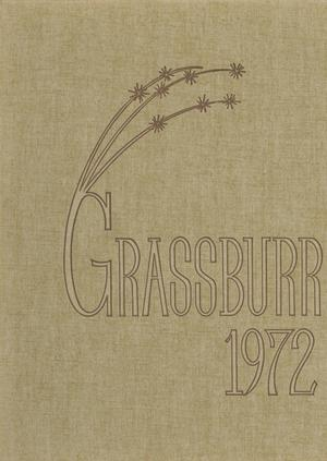 Primary view of object titled 'The Grassburr, Yearbook of Tarleton State College, 1972'.