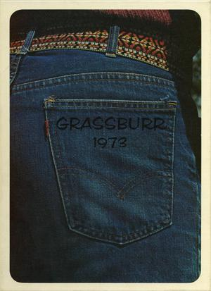 Primary view of object titled 'The Grassburr, Yearbook of Tarleton State College, 1973'.