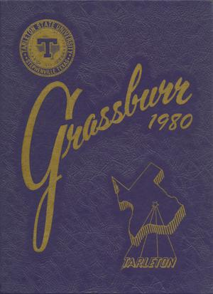 Primary view of object titled 'The Grassburr, Yearbook of Tarleton State University, 1980'.