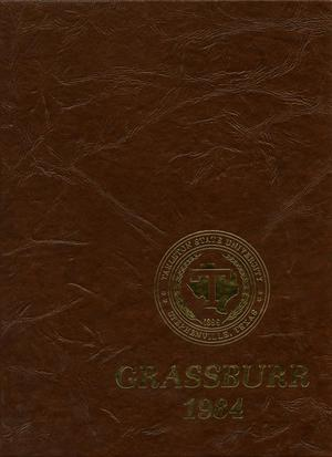 Primary view of object titled 'The Grassburr, Yearbook of Tarleton State University, 1984'.