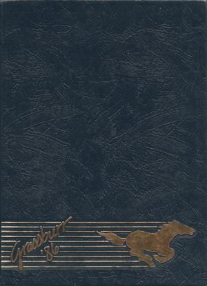 Primary view of The Grassburr, Yearbook of Tarleton State University, 1986