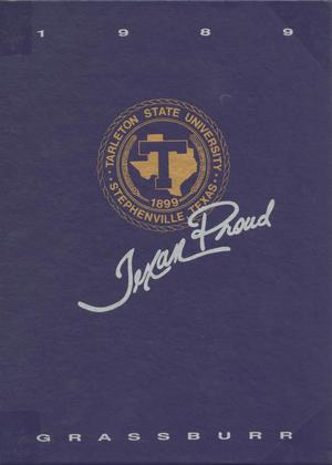 The Grassburr, Yearbook of Tarleton State University, 1989