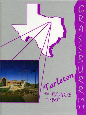 Primary view of object titled 'The Grassburr, Yearbook of Tarleton State University, 1991'.