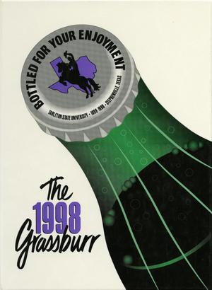Primary view of object titled 'The Grassburr, Yearbook of Tarleton State University, 1998'.
