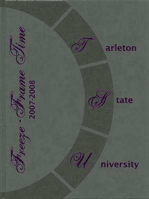 Primary view of object titled 'The Grassburr, Yearbook of Tarleton State University, 2008'.