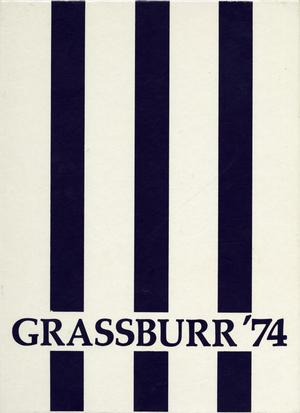 Primary view of object titled 'The Grassburr, Yearbook of Tarleton State College, 1974'.