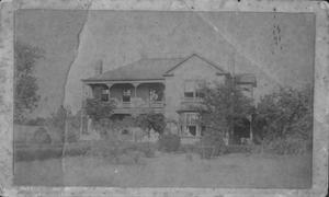 "Primary view of object titled '[House identified on back in red pen as ""Ryon House.""]'."