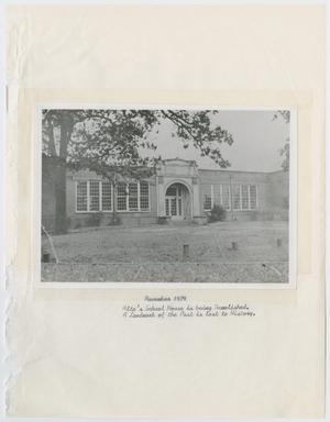 [Photograph: Alto School House]
