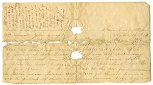 Primary view of object titled '[Letter from Granbury, Texas, April 15 1892]'.