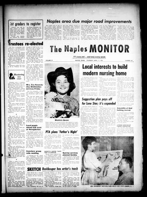 Primary view of object titled 'The Naples Monitor (Naples, Tex.), Vol. 77, No. 38, Ed. 1 Thursday, April 11, 1963'.