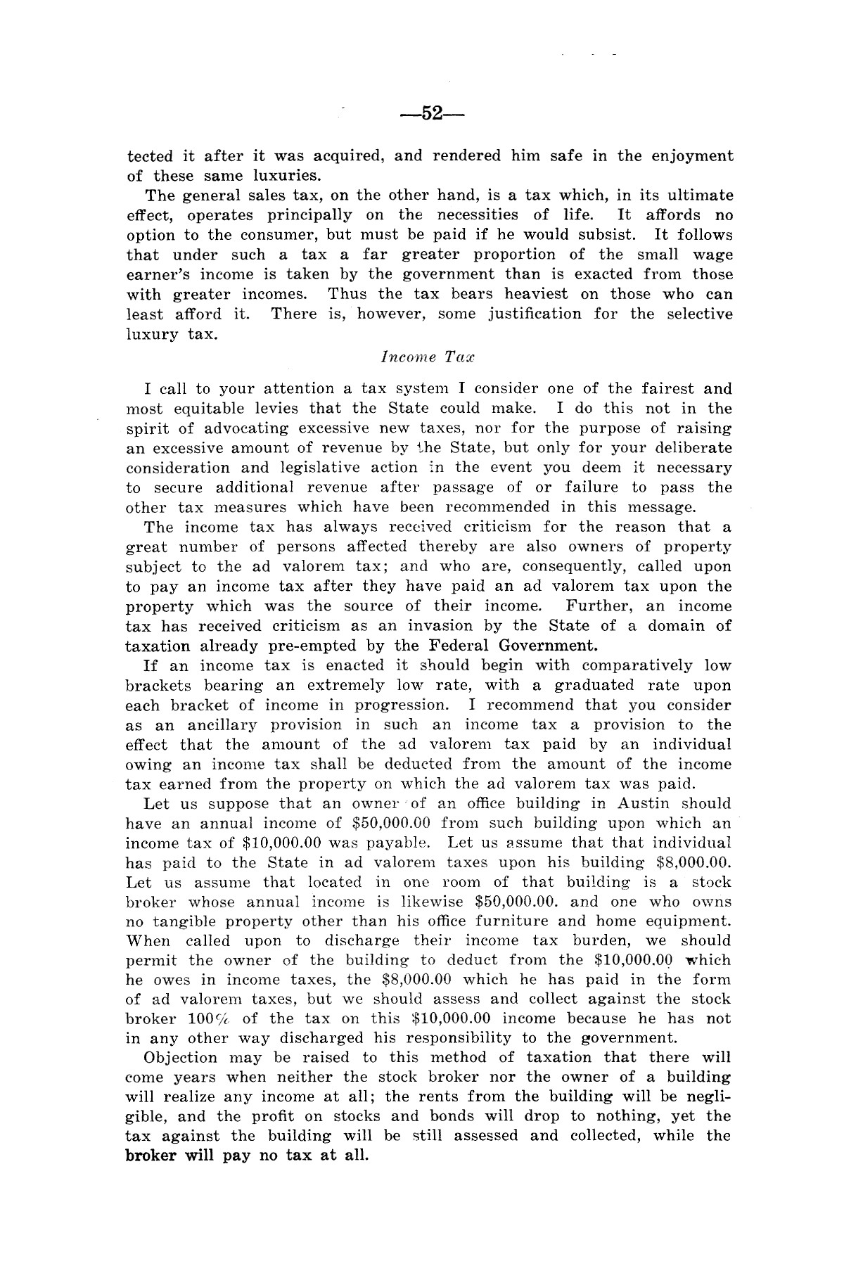 Legislative Messages of Hon. James V. Allred, Governor of Texas 1935-1939                                                                                                      [Sequence #]: 51 of 263