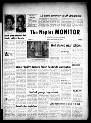 Primary view of object titled 'The Naples Monitor (Naples, Tex.), Vol. 77, No. 44, Ed. 1 Thursday, May 23, 1963'.